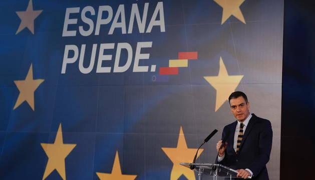 Plan España Puede sobre la recuperación y resiliencia. Foto de EuropaPress