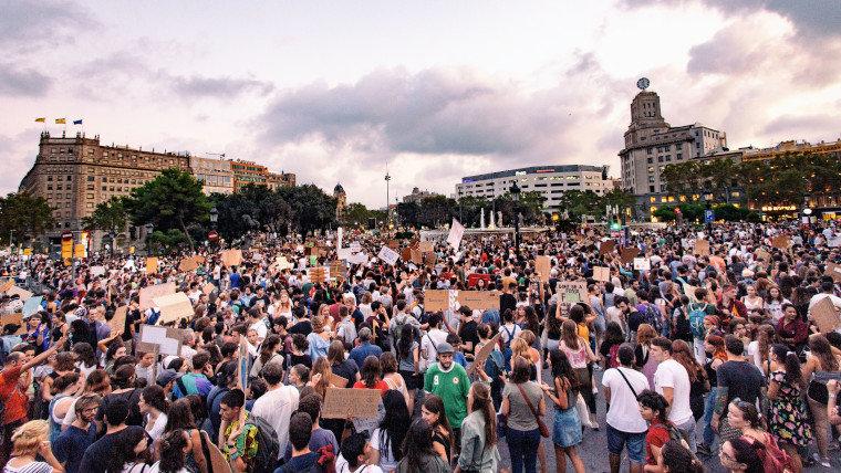 Manifestació ecologista